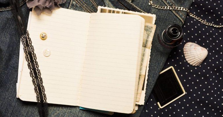 איך כותבים יומן מסע
