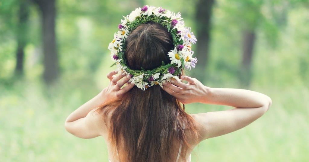 איך מכינים זר פרחים לראש